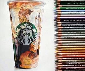 starbucks, art, and drawing image