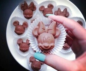 chocolate, food, and disney image