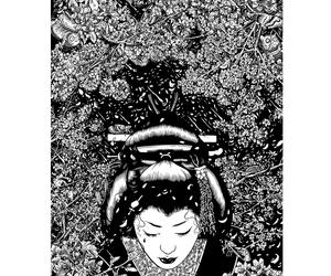 geisha, tim mcdonagh, and paradise image