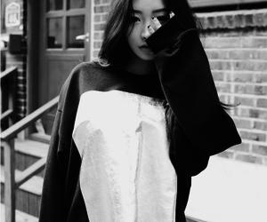 korean, black and white, and fashion image