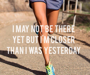 fit, motivation, and running image