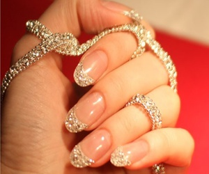 design, jewels, and nail image