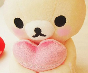 cute, kawaii, and rilakkuma image