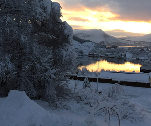 beautiful, norway, and winter image