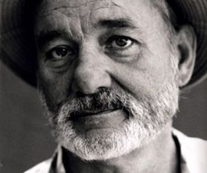bill murray and black and white image