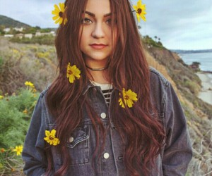 andrea russett, andrea, and flowers image