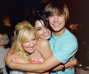 ashley tisdale, couple, and friends image