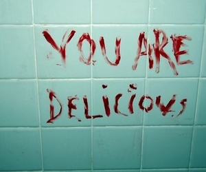 blood, delicious, and grunge image