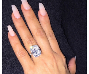 diamond, flawless, and ring image