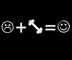 fitness, workout, and happy image