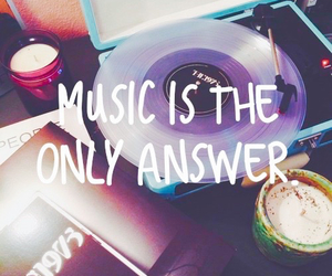 music, answer, and only image