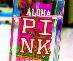 pink, Aloha, and Victoria's Secret image