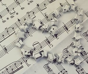 music, love, and note image
