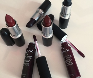 lipstick, mac, and NYX image