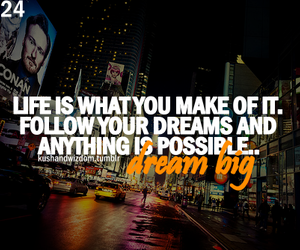 Dream, dreams, and life image