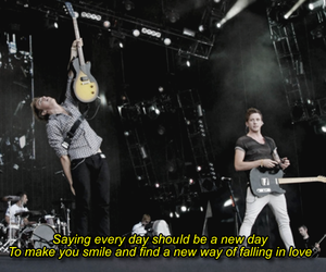 falling in love and McFly image