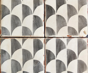 black and white, pattern, and decor image
