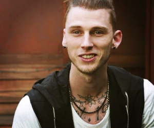 Hot, lace up, and mgk image