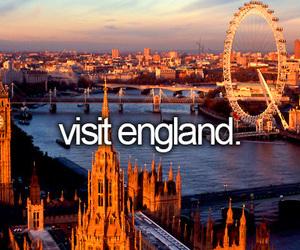 england, travel, and london image