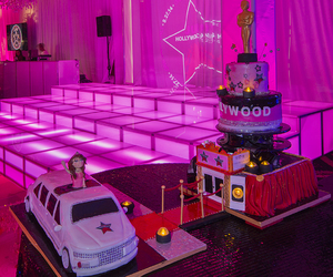 cake, hollywood, and pink image