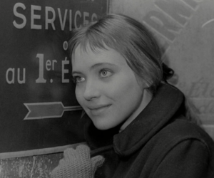 anna karina, bande a part, and black and white image