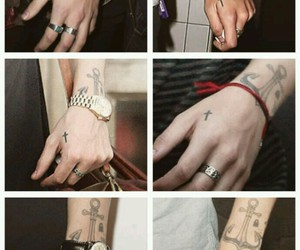styles, Harry Styles, and tatoos image