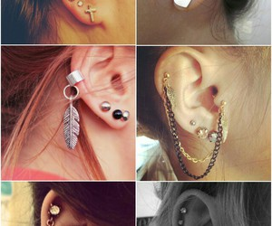 piercing and fashion image