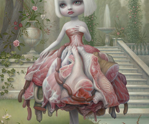 Mark Ryden, art, and meat image