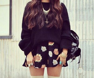 fashion, outfit, and skirt image