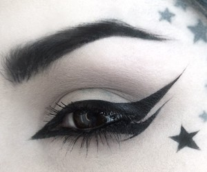 kat von d, black, and star image