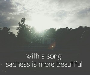 beautiful, landscapes, and music image