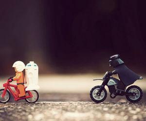 star wars, lego, and darth vader image