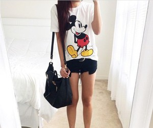 mickey mouse, outfit, and mickey image