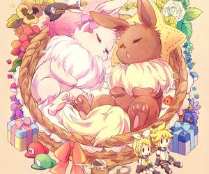 pokemon, anime, and eevee image