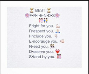 emojis and best friends image