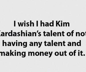 kim kardashian, funny, and money image