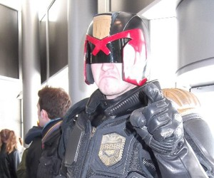 cosplay, kitchenercon2015, and judge dread image