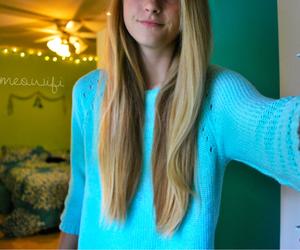 tumblr, girl, and hair image