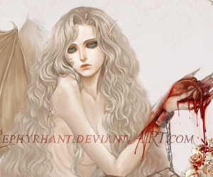 blood and demon image