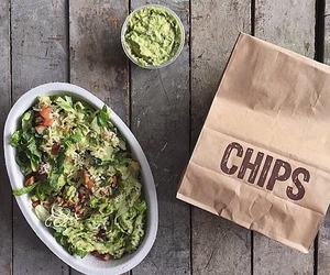 chipotle, chips, and fitness image