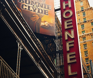 bonnie and clyde, broadway, and musical image