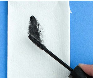 before, mascara, and applying image