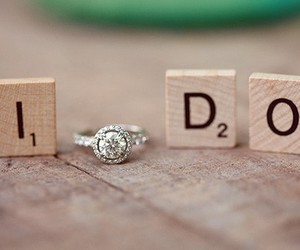 love, ring, and I DO image