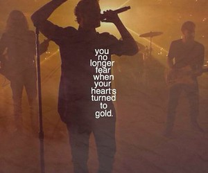 gold, Lyrics, and music image
