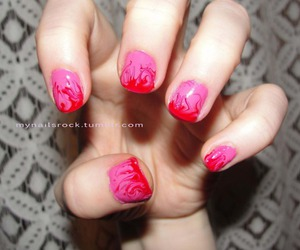 nail art, nails, and pretty image