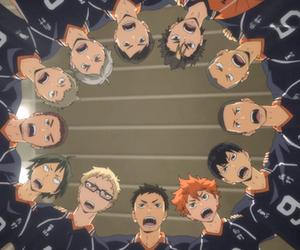 anime, hinata shouyou, and tanaka ryuunosuke image