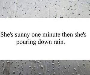 quotes, sad, and rain image