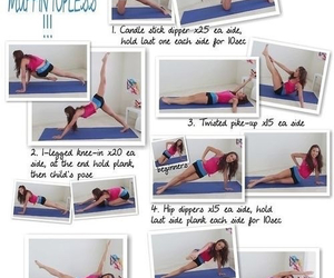 workout, fitness, and bikini image