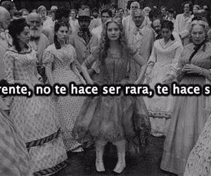 alice, black and white, and frases image