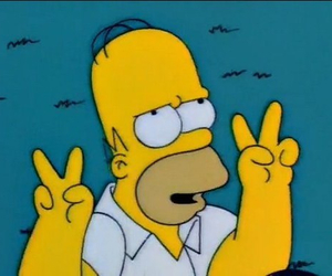 homer, simpsons, and the simpsons image